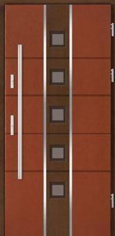 drzwi dwukolorowe